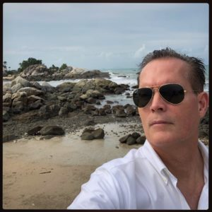 Mark Lindquist on Bangka Island, Indoesia